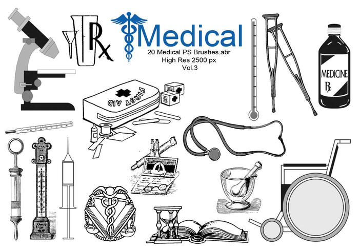 20 Medical PS Brushes.abr  Vol.3