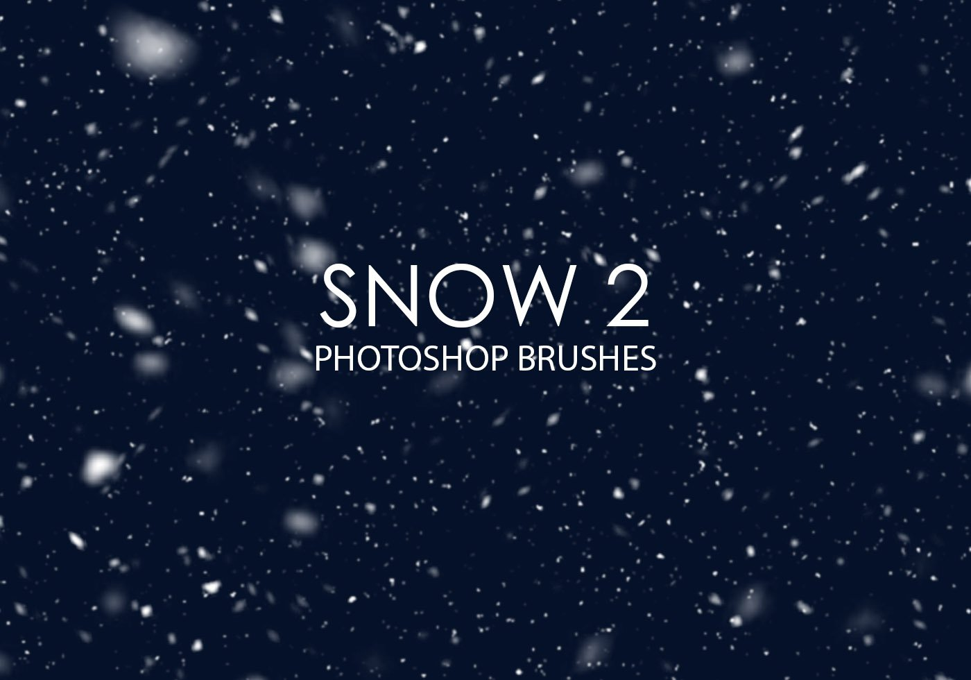 How to create realistic snow in Photoshop - DIY Photography