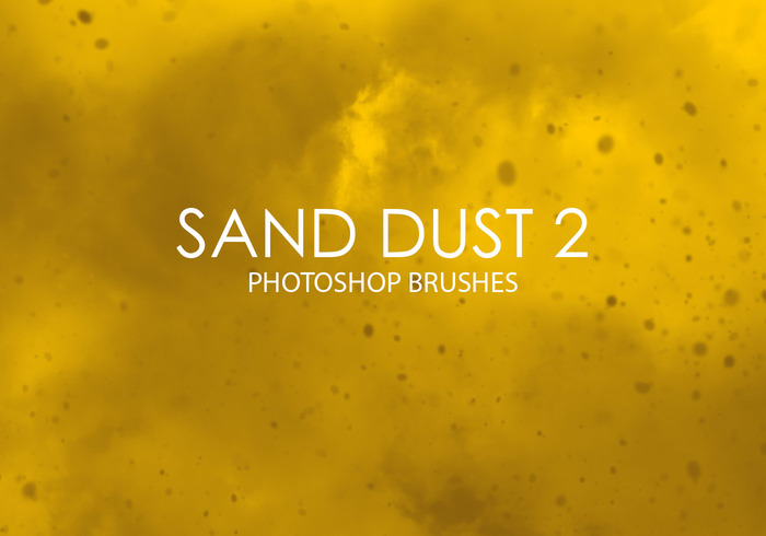 Pinceaux Gratin de Photoshop Sand Dust 2