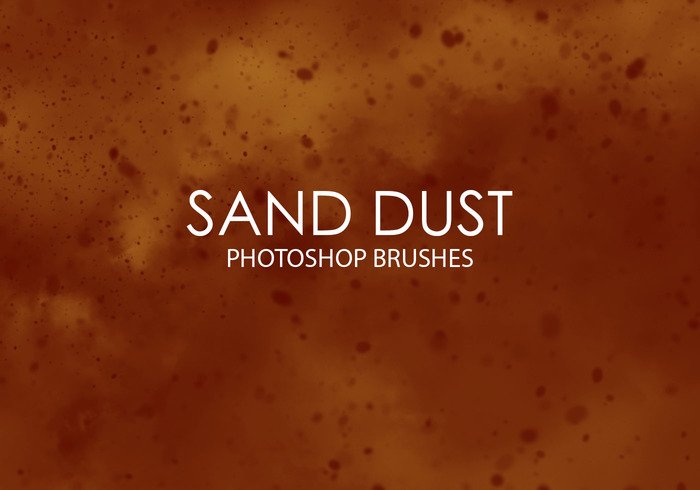 Free Sand Dust Photoshop Pinsel