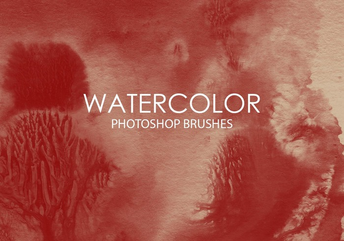 Free Watercolor Wash Photoshop Brushes 8