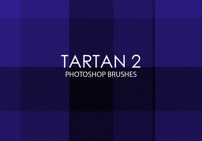 Escovas gratuitas do photoshop de tartan 2