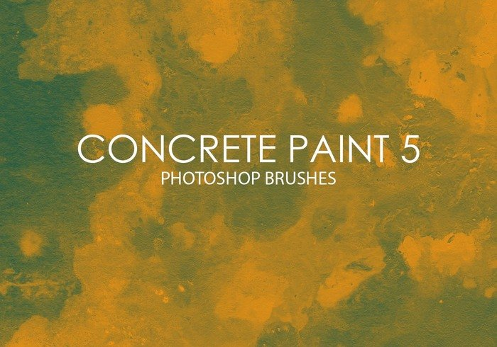 Free Concrete Paint Photoshop Brushes 5