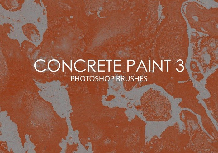 Free Concrete Paint Photoshop Brushes 3