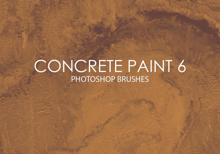 Free Concrete Paint Pinceles para Photoshop 6