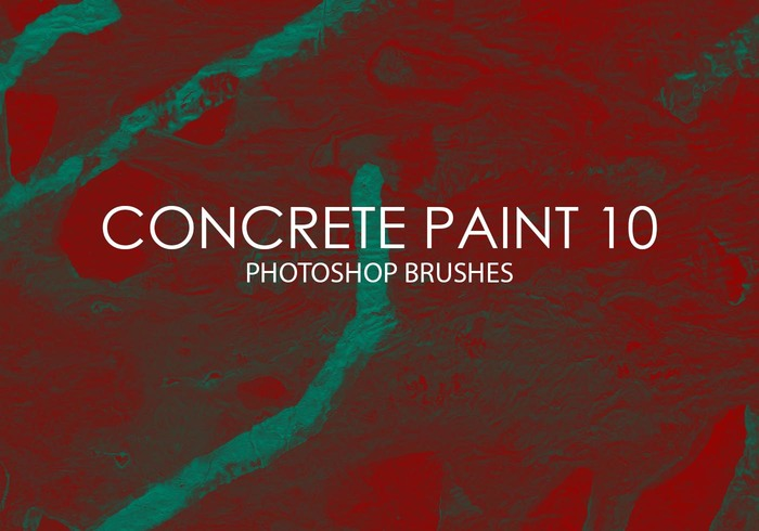 Free Concrete Paint Photoshop Brushes 10