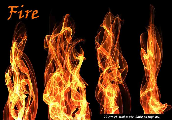 20 Fire PS Brushes abr.Vol.5