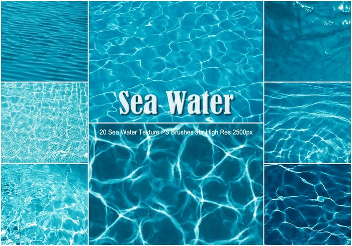 20 sea water texture ps brushes abr free photoshop brushes at