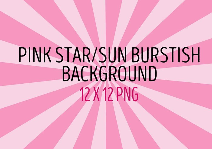 Pink Star Sun Burst Background