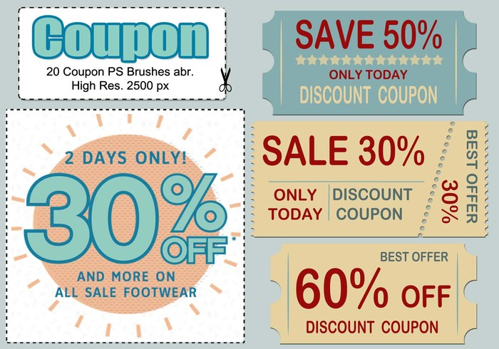 20 Coupon PS Brushes abr.