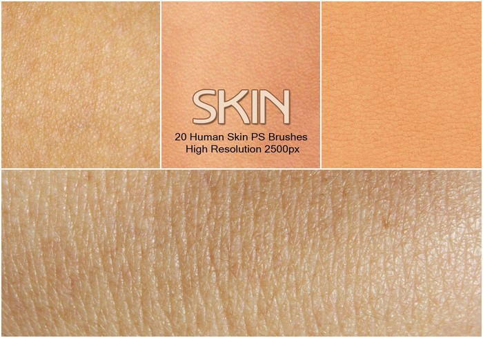 20 Human Skin PS Borstels abr.