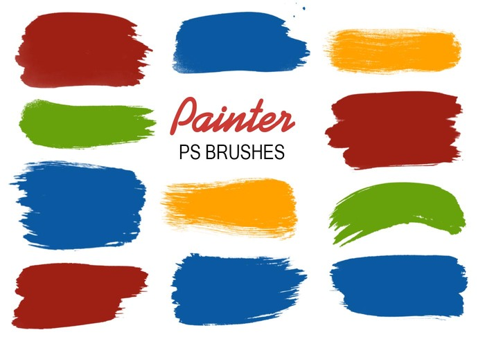20 Painter PS Brushes abr.vol.4