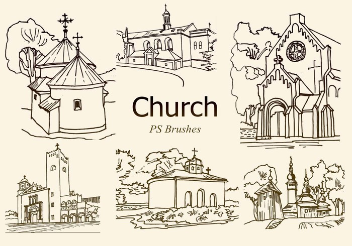 20 Church PS Brushes abr. vol.5