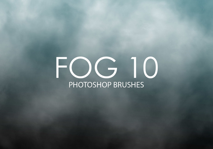 Libre Niebla Photoshop Brushes 10