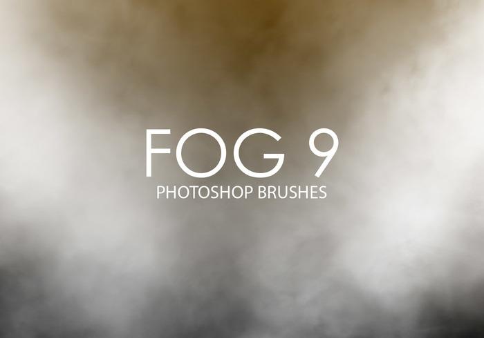 Pinceaux gratuits photoshop de brouillard 9