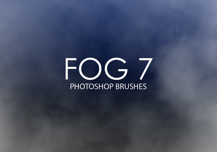 Libre Niebla Photoshop Brushes 7
