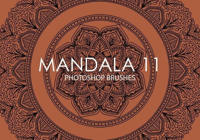 Brosse de photoshop gratuits de mandala 11