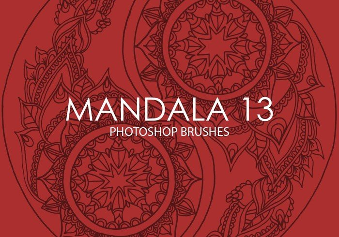Free Mandala Photoshop Brushes 13