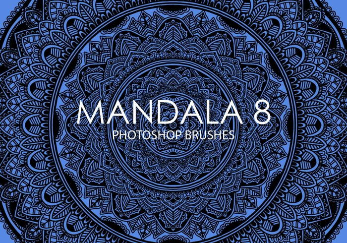 Gratis Mandala Photoshop Borstels 8