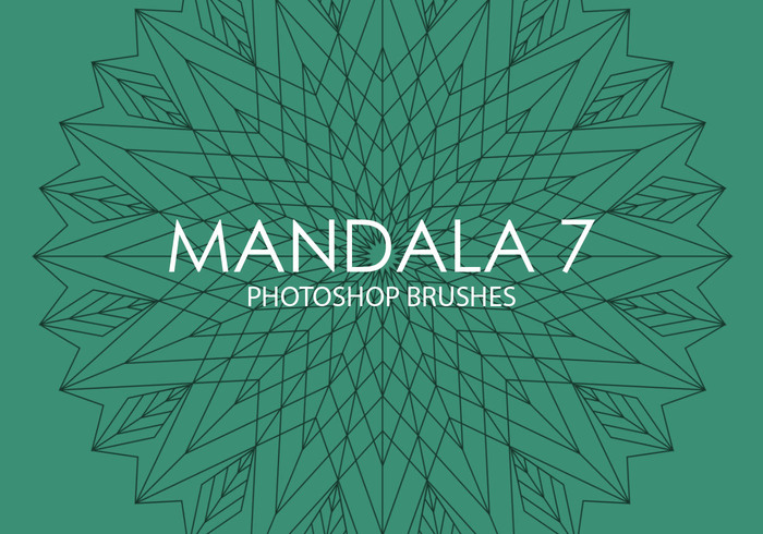 Gratis Mandala Photoshop Borstels 7