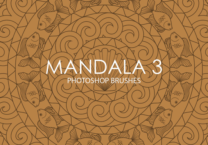 Free Mandala Photoshop Brushes 3