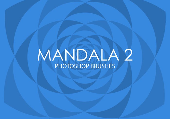 Gratis Mandala Photoshop Borstels 2