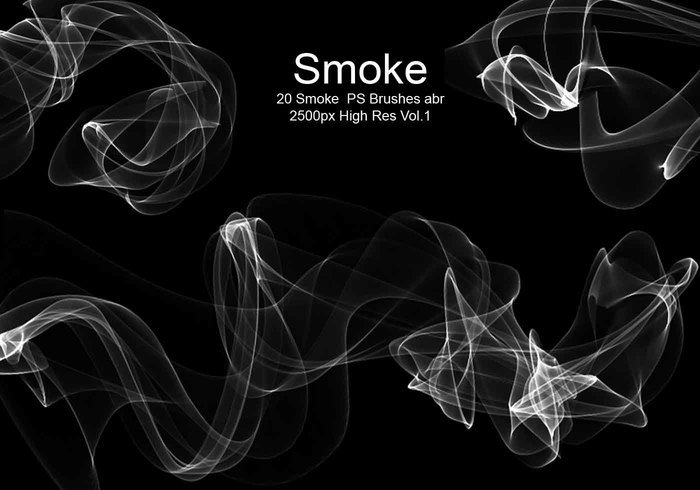 20 Smoke PS brushes abr. Vol.1