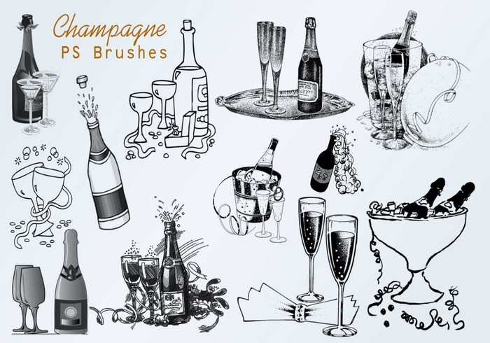 20 Champagne PS Brushes abr.vol.3