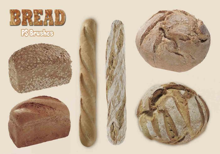 20 Bread PS Brushes.abr