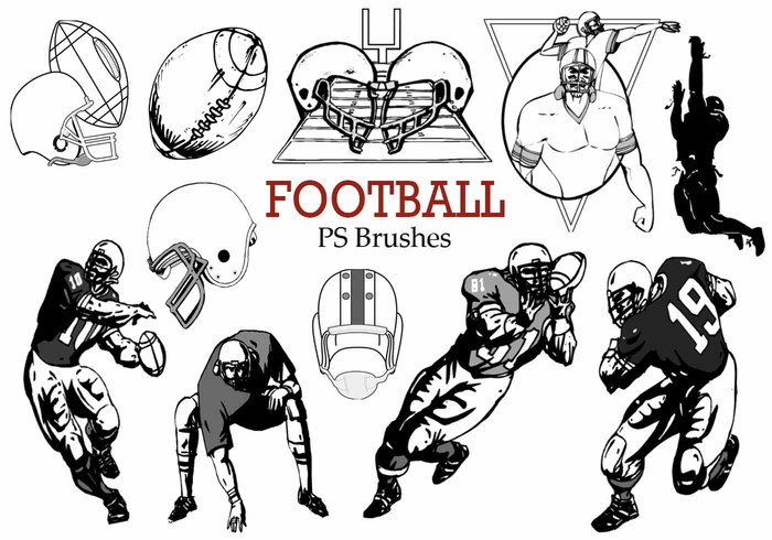 20 Football Ps Brushes abr.