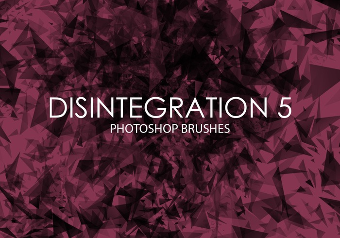 Free Disintegration Photoshop Brushes 5