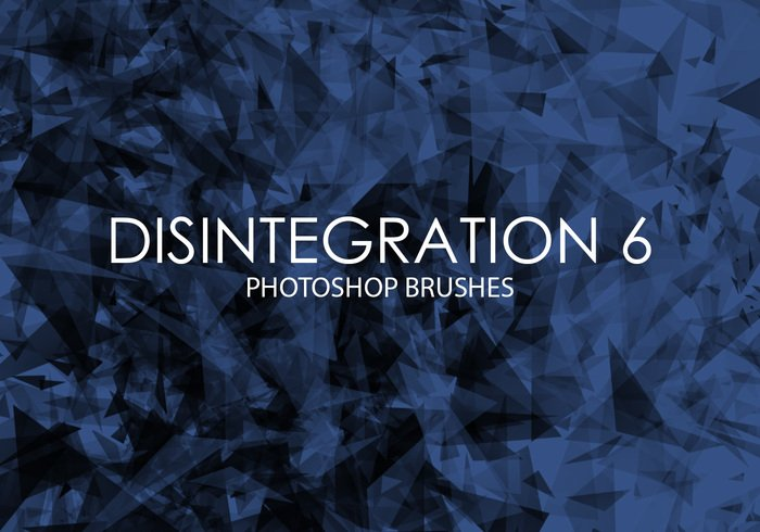 Free Disintegration Photoshop Brushes 6