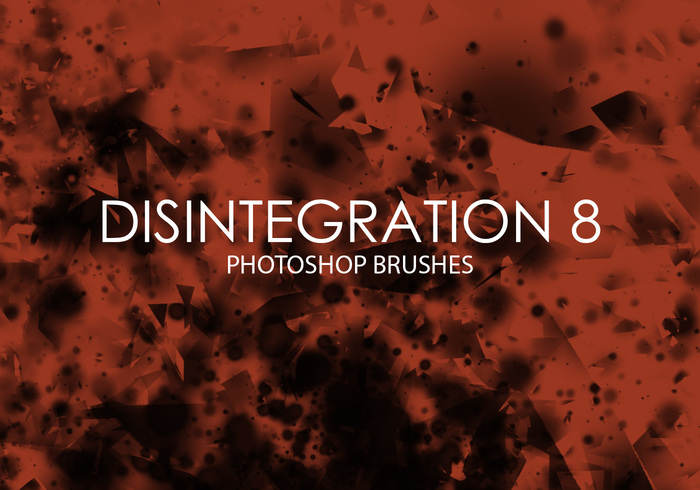 Free Disintegration Photoshop Brushes 8