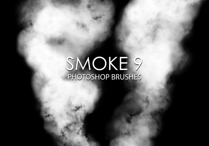 Gratis Smoke Photoshop Borstar 9
