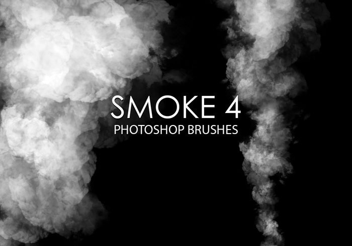Free smoke photoshop brush 4