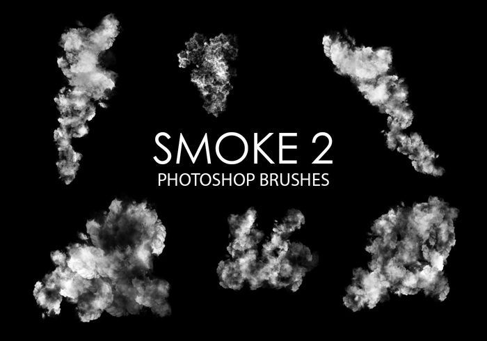 Gratis Smoke Photoshop Borstels 2