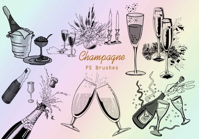 20 Champagne PS Brushes abr.vol.4