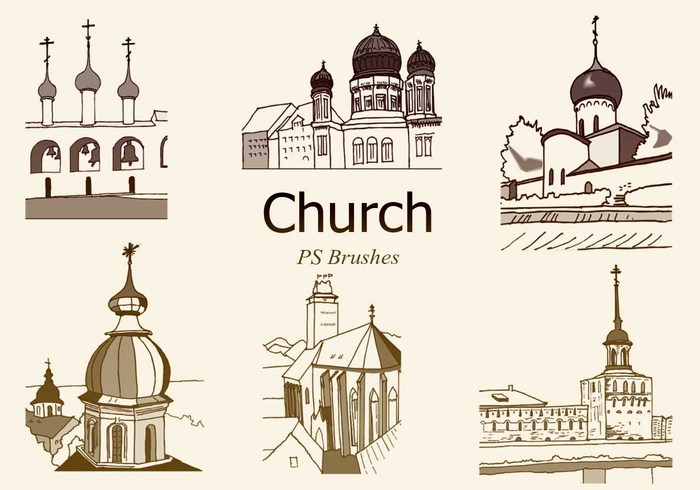 20 Church PS Brushes abr. Vol.6