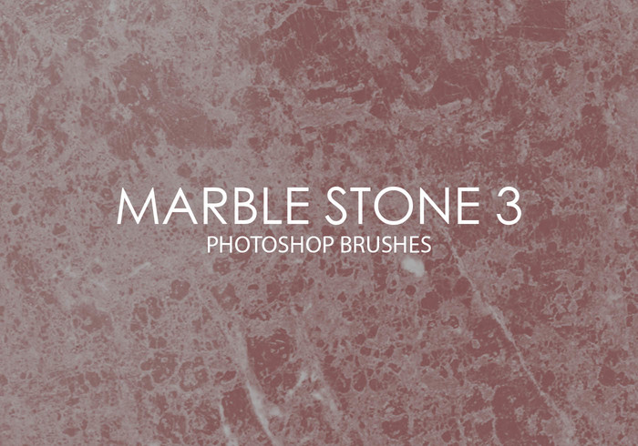 Gratis Marble Stone Pinceles para Photoshop 3