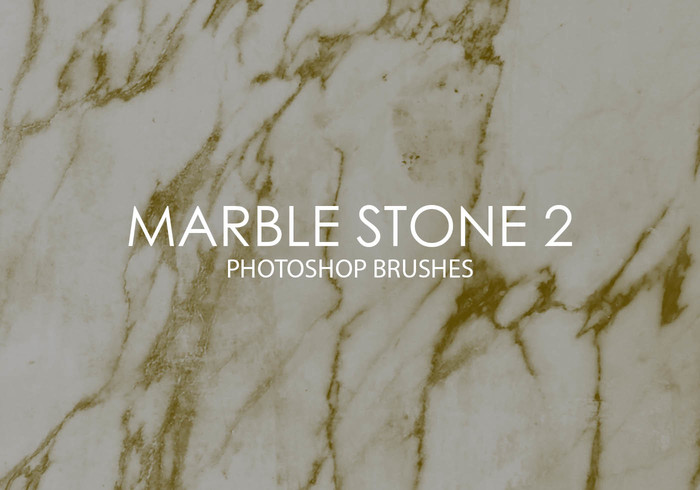 Free Marble Stone Photoshop Brushes 2