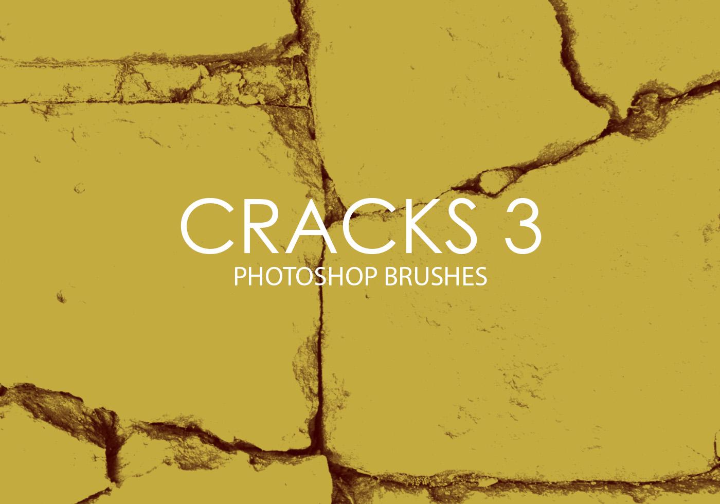 free cracks photoshop brushes 3