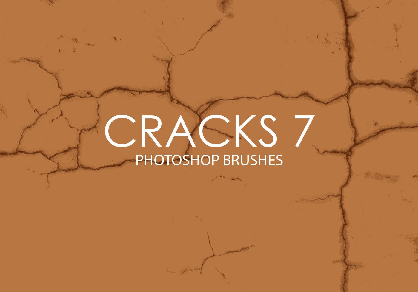 free cracks photoshop brushes 7