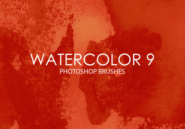 Free Watercolor Photoshop Brushes 9