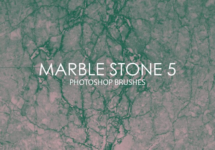 Free Marble Stone Photoshop Brushes 5