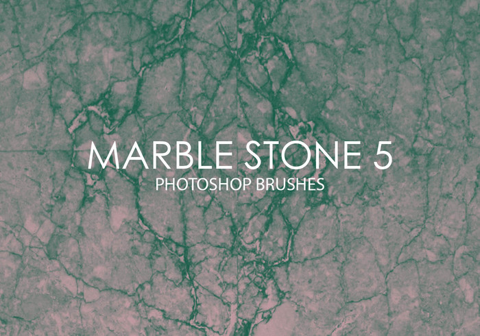 Gratis Marble Stone Pinceles para Photoshop 5