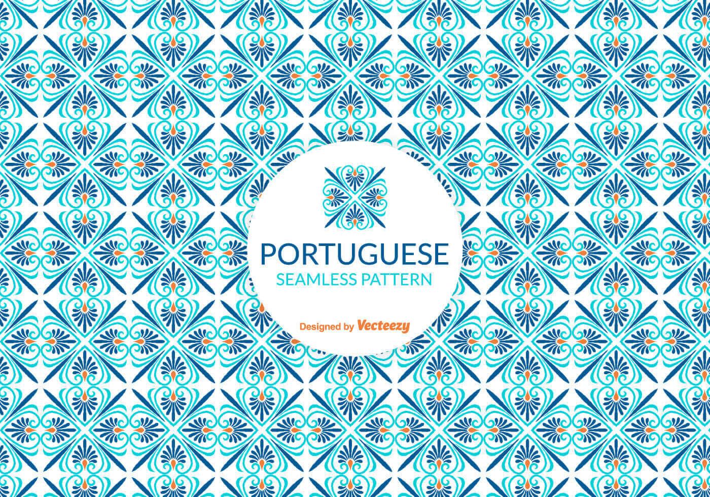 Portuguese Tile Pattern - Free Photoshop Brushes at Brusheezy!