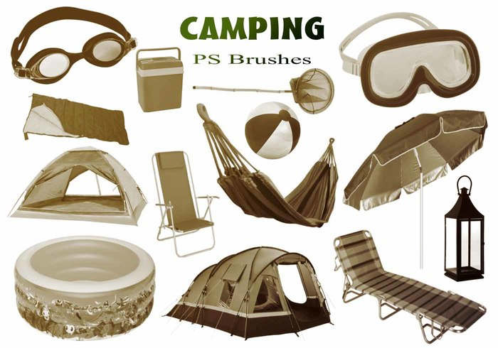 20 Camping PS Brushes abr.