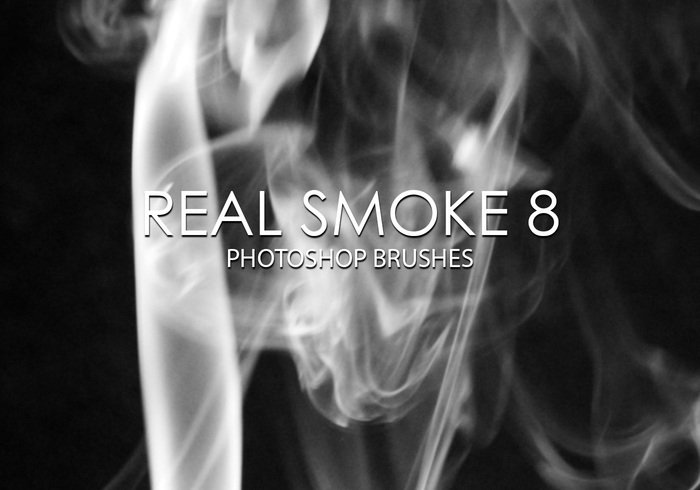 Free Real Smoke Photoshop Brushes 8