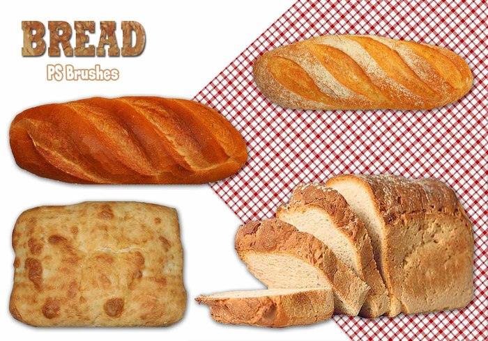20 Bread PS Brushes abr.