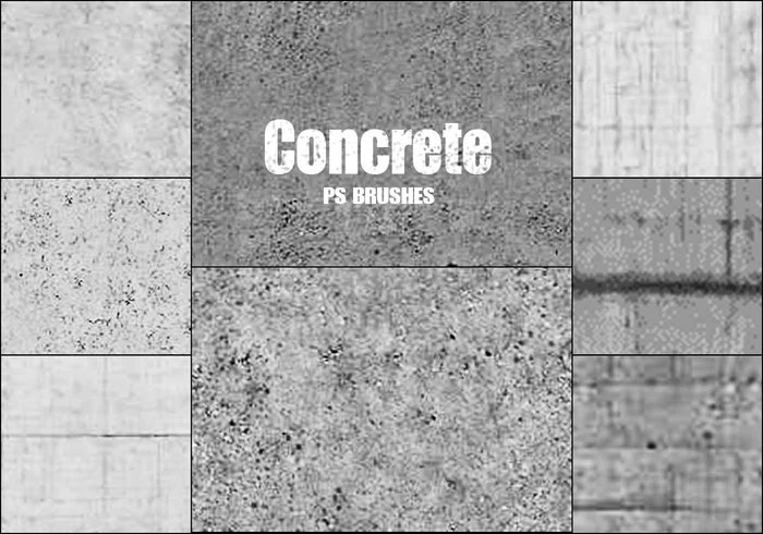 20 Concrete PS Brushes abr vol 9